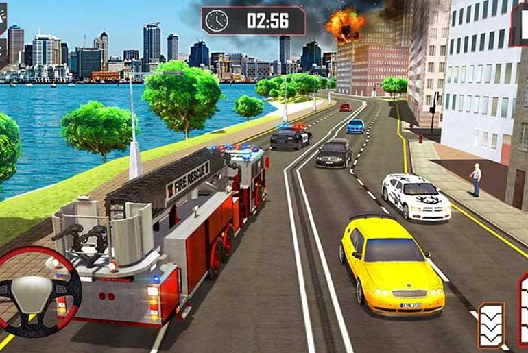 Fire-Truck-Driving-Rescue-911-Fire-Engine-Games